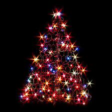 Pre Lit Multicolor Christmas Tree Sale by Shop Crab Pot Trees 2 1 Ft Pre Lit Artificial Christmas Tree With