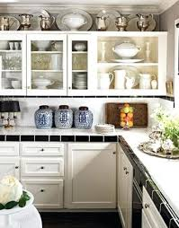 Above Kitchen Cabinet Christmas Decor by Decorate Top Of Kitchen Cabinets Photos Cabinet Christmas