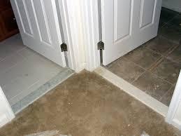 carpet to tile door carpet