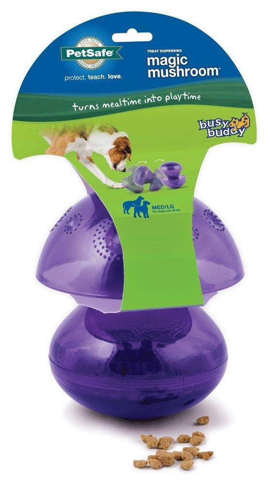 PetSafe Busy Buddy Magic Mushroom Meal Dispensing Dog Toy