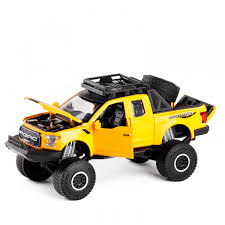 Ford Raptor F150 High-Lift Pickup Truck Diecast Toy Cars - By Scale ... Classic Metal Works Ho 1960 Stakebed Ford Truck Yellowred Ertl 118 F 100 Diecast Model Car Aw211 Svt F150 Lightning Pickup Red Maisto 31141 121 Not A Toy 1925 Panel Delivery Super Duty F350 Dually Biguntryfarmtoyscom 2016f250dhs Colctables Inc Majorette Premium 150 Cars Street Cruisers 66 Party Favors Rroplanetcom Raptor Highlift By Scale 187 With Moving Van Trailer Custom Coe 9000 Toys Proline F650 Monster Body Clear Pro319300 1956 F100 124 Scale American Diecast