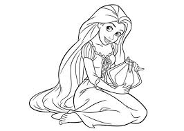 Disney Princesses Coloring Pages Top For Princess With HD
