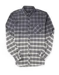 antioch grey flannel shirt in gray for men lyst