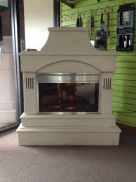 Simple Outdoor Fireplace Electric Popular Home Design Fancy At