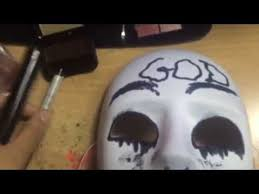 The Purge God Mask Halloween by How To Make The Purge Anarchy God Mask Youtube Order Of