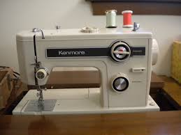 Vintage Kenmore Sewing Machine In Cabinet by Vintage Sewing Machines A Diva Moment