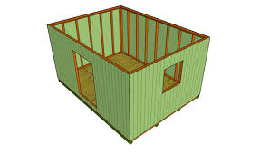 12x12 Gambrel Shed Plans by Saltbox Shed Plans Myoutdoorplans Free Woodworking Plans And
