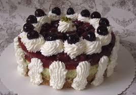 kirsch pistazienmousse torte