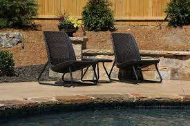 Patio Bistro 240 Instructions by Varick Gallery Cater All Weather 3 Piece Lounger Seating Set