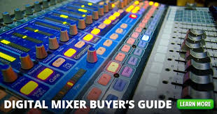Digital Mixer Buyers Guide