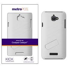 MetroPCS Coolpad Catalyst KICK Kickstand Shield With Screen