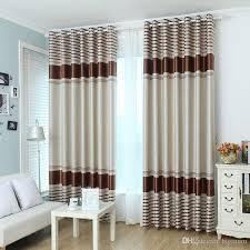 großhandel blackout vorhänge für wohnzimmer esszimmer schlafzimmer 4 farben gestreift modern minimalist shading stoff weiß tüll vorhang behandlung