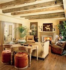 Living Room Design Airy And Cozy Rustic Designs