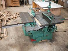 whitney planer a really old an classic woodworking machine