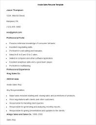 Sales Lady Resume Sample Inside Template Objective