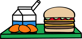 School Lunch Tray Clip Art