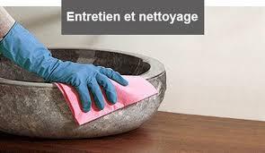 nos conseils d entretien pour votre vasque naturelle et