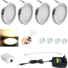 led cabinet puck lighting dimmable hardwired pro in