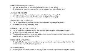 College Scholarship Resume Examples Make Resumele Leadershiples Cv Objective Statement Rotc Sample S Medium Size