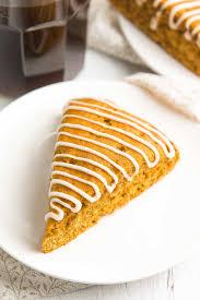 Starbuck Pumpkin Spice Latte Uk by Healthy Pumpkin Spice Latte Scones Amy U0027s Healthy Baking