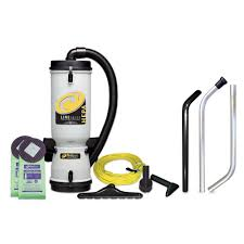 ProTeam LineVacer ULPA 10 qt Backpack Vac with High Filtration