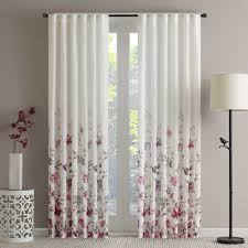 Dkny Curtain Panels Uk by Regency Heights Isla Floral Sheer Rod Pocket Window Curtain Panel