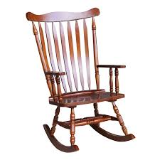 Colonial Cherry Finish Rocking Chair - 28