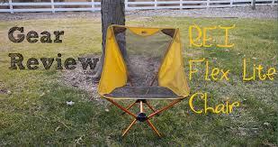 gear review rei flex lite chair video milestone rides