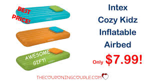 Intex Kidz Travel Bed by Best Price Intex Cozy Kidz Inflatable Airbed Only 7 99