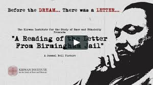 A Reading Of The Letter From Birmingham Jailu201d Before The Dream