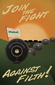 Bed Bath Beyond Roomba by Roomba Wwii Propaganda Style Poster Cool Art Design Irobot