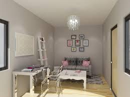 Parson Desk West Elm by Glam Chic Home Office For A Client Sayeh Pezeshki La Brand