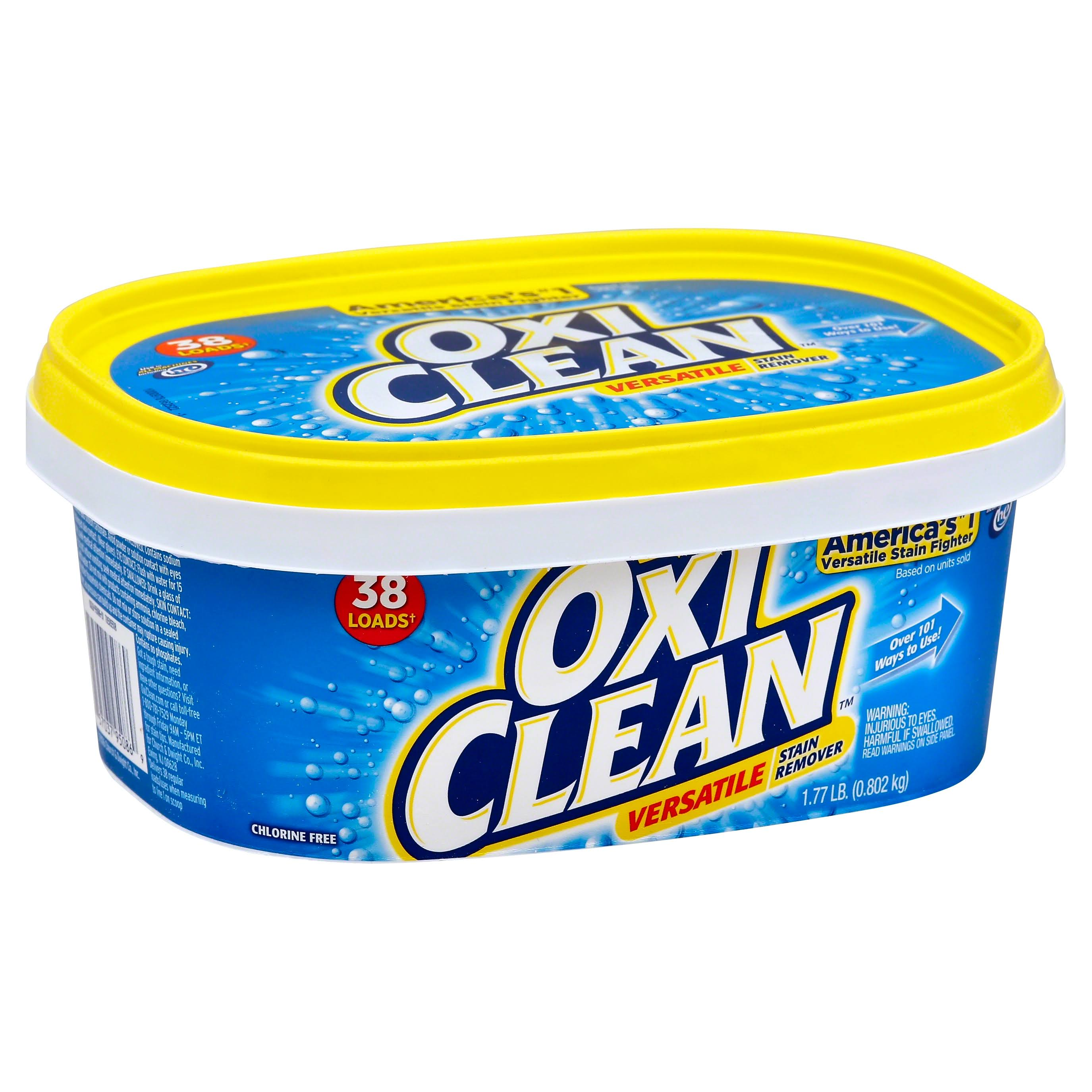 OxiClean Versatile Stain Remover - 38 Loads, 1.77lb