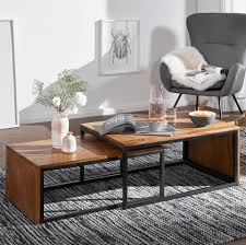 kadima design design couchtisch 2er set sheesham massivholz