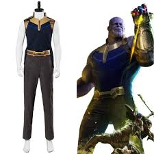 Avengers Infinity War Thanos Cosplay Costume CosplayFTW