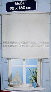 unbekannt seitenzugrollo 90 x 160 cm weiß blickdicht für bad wc dusche sichtschutz