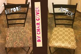 DIY Kitchen Chair covers