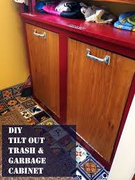 34 best wood trash can plans images on pinterest kitchen