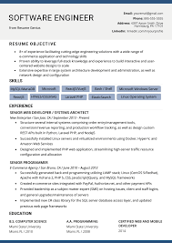 Software Engineer Resume Example & Writing Tips | Resume Genius Cover Letter Software Developer Sample Elegant How Is My Resume Rumes Resume Template Free 25 Software Senior Engineer Plusradioinfo Writing Service To Write A Great Intern Samples Velvet Jobs New Best Junior Net Get You Hired Top 8 Junior Engineer Samples Guide 12 Word Pdf 2019 Graduate Cv Eeering Graduating In May Never Hear Back From