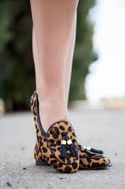 fall shoes to wear with everything leopard flats