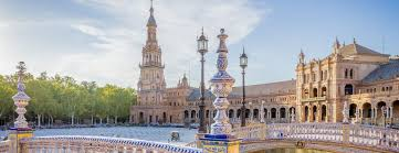 Seville Sevilla Plaza De Espana In Andalusia Stock Photo © TONO