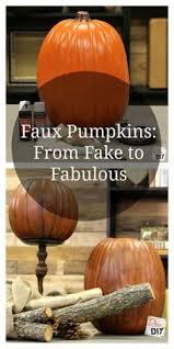 Carvable Foam Pumpkins Hobby Lobby by Diy Faux Painted Pumpkins How To Turn Those Cheap Plastic Orange
