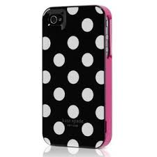 Amazon Kate Spade Round Dot Iphone 4 4s Case lovey Ipho