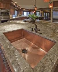 33x22 Copper Kitchen Sink by Hammered Copper Apron Front Sink Love It This Site Also Has All