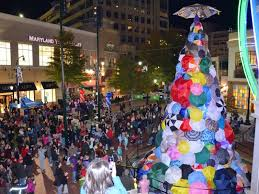 Positivi Tree Lights Up Downtown Silver Spring