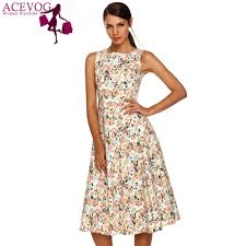 popular floral swing dress buy cheap floral swing dress lots from