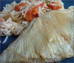 cuisiner une raie aile de raie à la tomate version express miamm maman