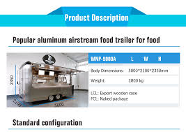 100 Lcl Truck Equipment Best Food Factory Supplymobile Airstream Aluminum Food