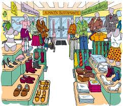 E Clothing Store Clipart