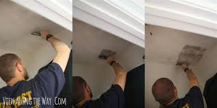 Does Popcorn Ceilings Have Asbestos In Them by How To Remove Popcorn Ceilings Easy Cheap Tricks With Photos